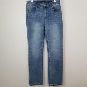 Jones New York size 4 Lexington Straight jeans